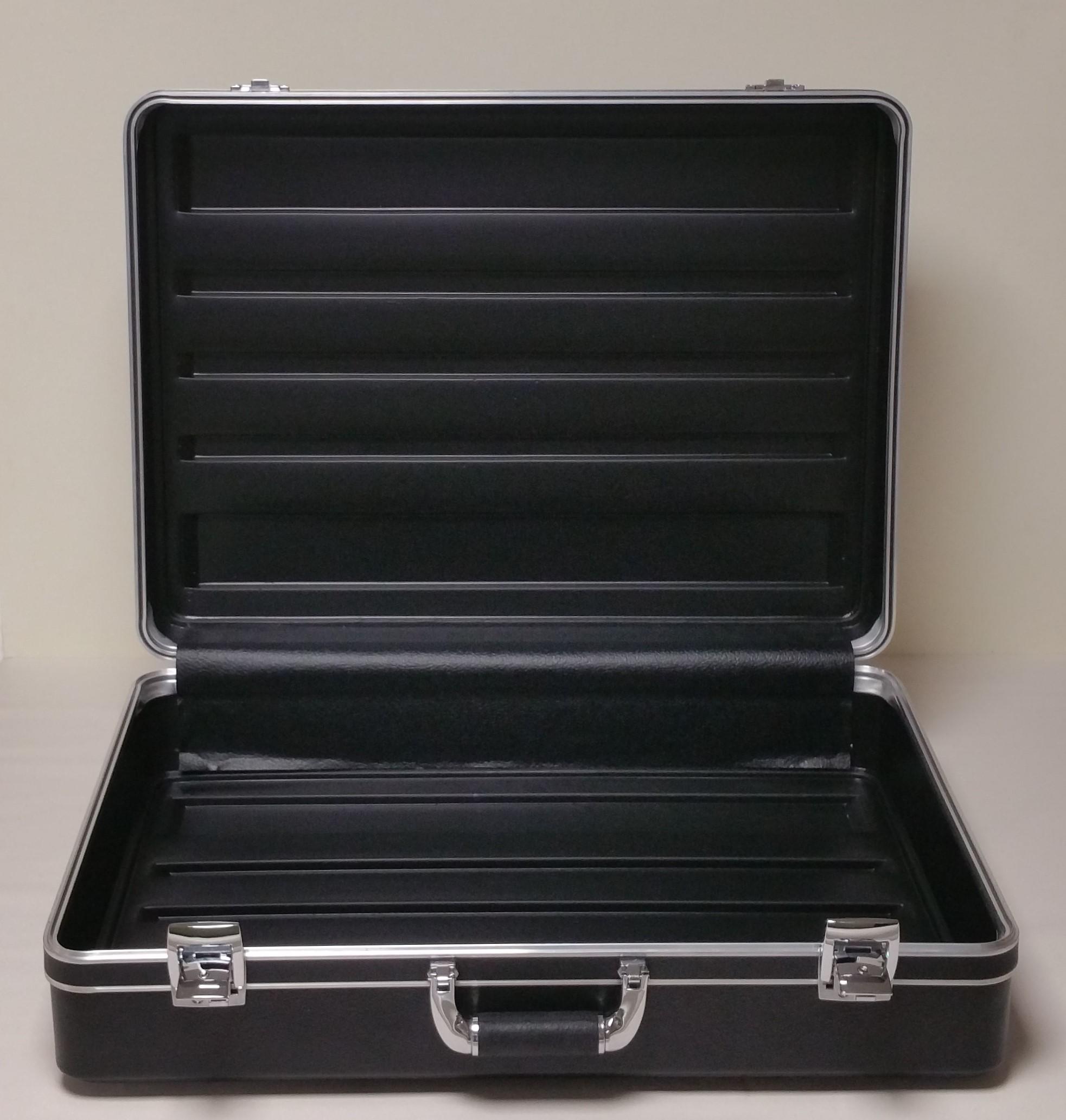 bare suitcase
